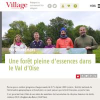 Une forêt pleine d'essences dans le Val d'Oise - Village Magazine - le 13 avril 2020